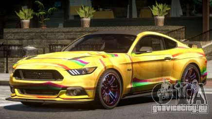 Ford Mustang GT-S V1.0 PJ4 для GTA 4