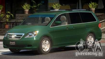 Honda Odyssey V1.0 для GTA 4