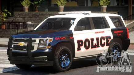 Chevrolet Tahoe Police V1.0 для GTA 4