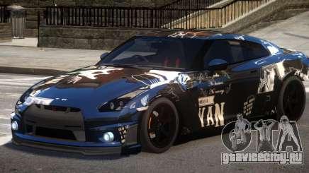 Nissan GT R35 V1.0 PJ3 для GTA 4