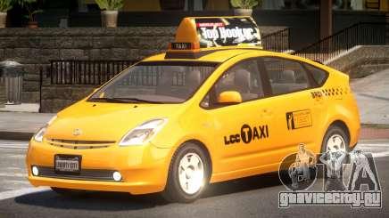Toyota Prius 2 Taxi V1.1 для GTA 4