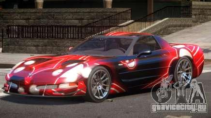 Chevrolet Corvette Z06 ST PJ2 для GTA 4