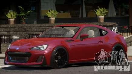 Subaru BRZ GT для GTA 4