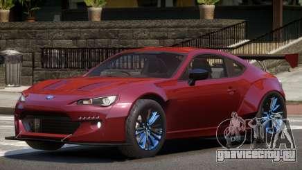 Subaru BRZ Sport для GTA 4