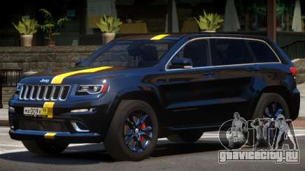 Jeep Grand Cherokee Black Edition для GTA 4