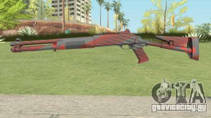 XM1014 Nukestripe Maroon (CS:GO) для GTA San Andreas