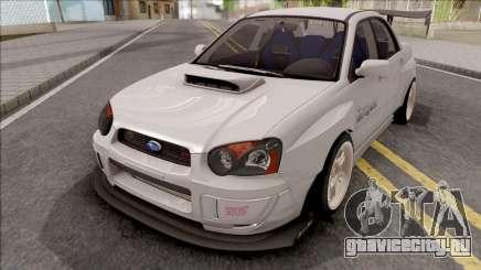 Subaru Impreza WRX STI Battle Aero для GTA San Andreas
