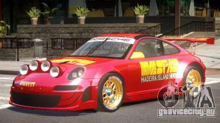 Porsche 911 GT3 Rallye V1.0 для GTA 4