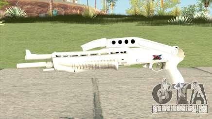 Combat Shotgun (White) для GTA San Andreas