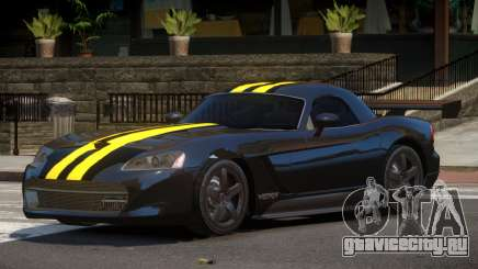 Dodge Viper RT Gold Strip для GTA 4