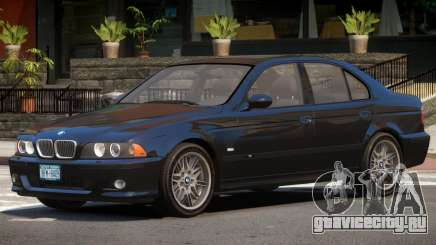 BMW M5 E39 ST V1.0 для GTA 4