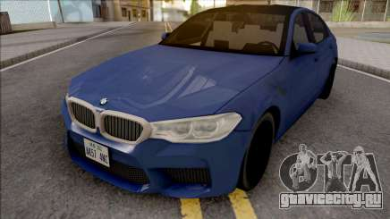 BMW M5 F90 2018 Blue для GTA San Andreas