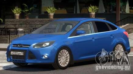 Ford Focus 3 V1.1 для GTA 4