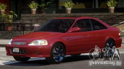 Honda Civic Si V1.0 для GTA 4