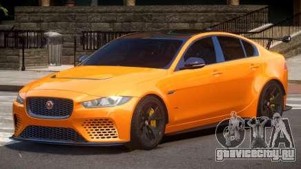 Jaguar XE Sport для GTA 4