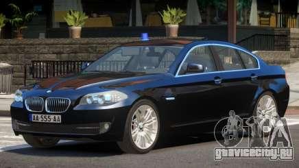 BMW M5 F10 FBI V1.0 для GTA 4