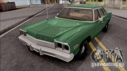 Dodge Monaco 1974 Green для GTA San Andreas