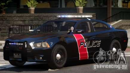 Dodge Charger Police V1.1 для GTA 4