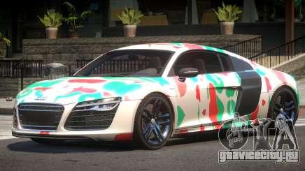 Audi R8 V10 GT PJ5 для GTA 4