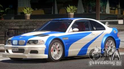 BMW M3 GTR V1.0 для GTA 4