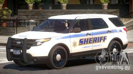 Ford Explorer Police V1.2 для GTA 4