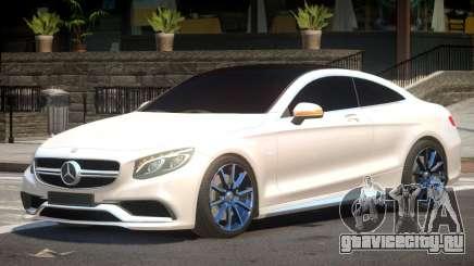 Mercedes Benz S63 V1.1 для GTA 4