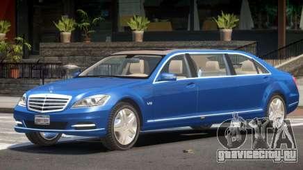 Mercedes Benz Limo V1.0 для GTA 4