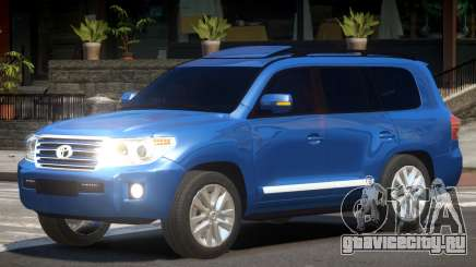 Toyota Land Cruiser 200 V1.2 для GTA 4