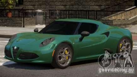 Alfa Romeo 4C ST для GTA 4