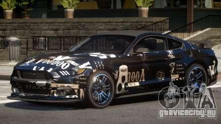 Ford Mustang GT-S V1.0 PJ3 для GTA 4