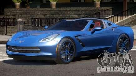 Chevrolet Corvette C7 V1.0 для GTA 4