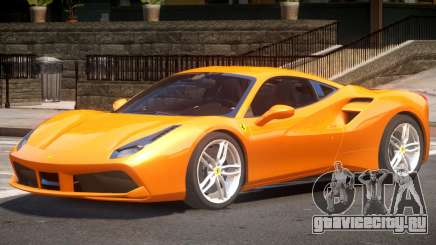 Ferrari 488 Improved для GTA 4