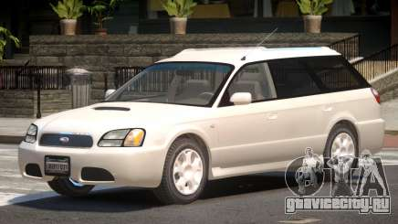 Subaru Legacy V1.0 для GTA 4
