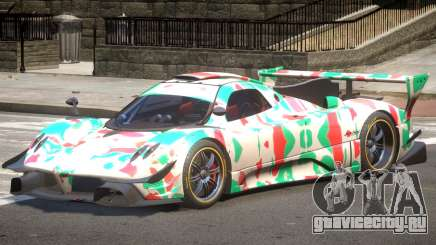 Pagani Zonda GT-R PJ5 для GTA 4
