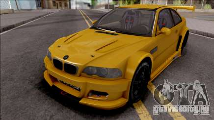 BMW M3 from NFS Shift 2 для GTA San Andreas