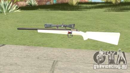 Sniper Rifle (White) для GTA San Andreas