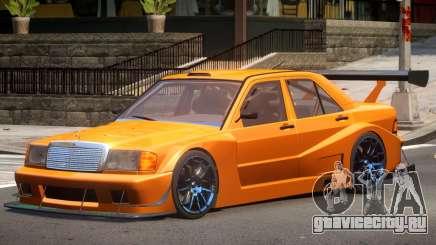 Mercedes 190E Sport для GTA 4