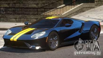 Ford GT Black Edition для GTA 4