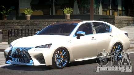 Lexus GS-F Elite для GTA 4