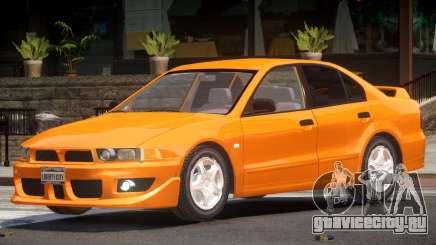 Mitsubishi Galant ST для GTA 4