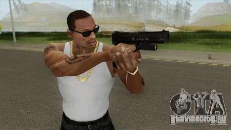 Pistol .50 GTA V (LSPD) Flashlight V1 для GTA San Andreas