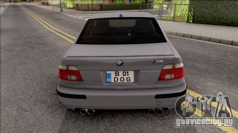 BMW M5 E39 Romanian Plate для GTA San Andreas