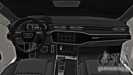 Audi A7 2020 Armenia для GTA San Andreas
