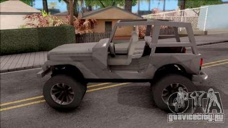 Jeep Wrangler 4x4 XL для GTA San Andreas