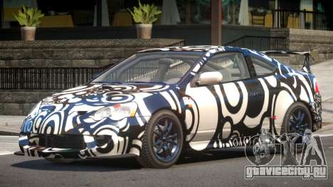 Honda Integra RS PJ4 для GTA 4
