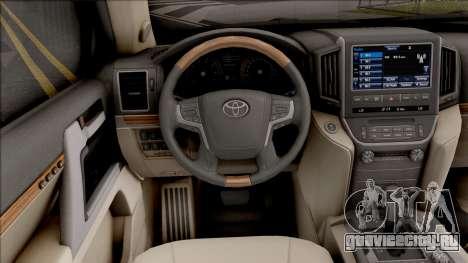 Toyota Land Cruiser VX-R для GTA San Andreas