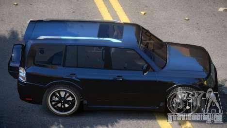 Mitsubishi Pajero Tuned для GTA 4