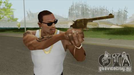 Double Action Revolver (Gold) GTA V для GTA San Andreas