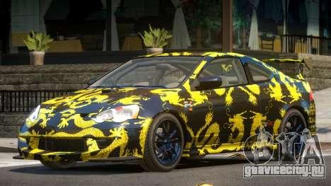 Honda Integra RS PJ2 для GTA 4