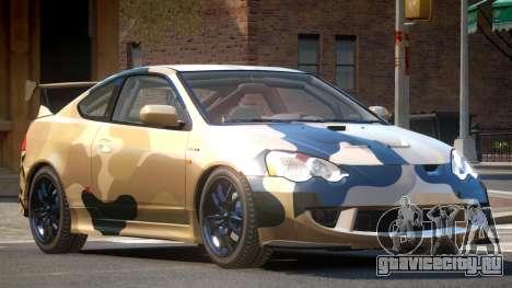 Honda Integra RS PJ3 для GTA 4